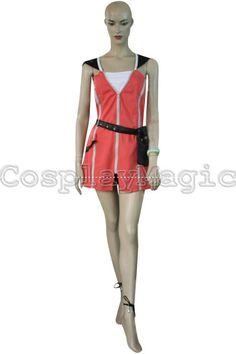 CosplayMagic.com -- Kingdom Hearts 2 Kairi Pink Dress Cosplay