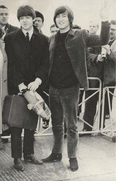 ♡♥John Lennon with Paul♥♡