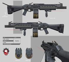 Ascend Weapon Concept