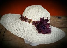 Check out this item in my Etsy shop https://www.etsy.com/listing/498309676/sexy-yet-cool-wide-brim-sunhat-natural