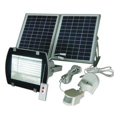 1800 watt solar powered portable generator with electric start and solar goes green sgg f156 2r super bright 156 smds solar powered flood light aloadofball Image collections