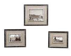 18537 for bookcase Distressed black frames with gray undertones and burlap liner. Holds photo sizes: 4x6, 5x7 & 8x10. Frames sizes: sm-10x12x1, med-11x13x1, lg-14x16x1