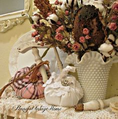 Penny's Vintage Home: Fall Centerpiece