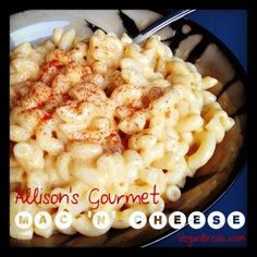 Baked Mac 'n' Cheese -- without tofu, soy cheese or nutritional yeast