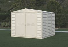 Duramax 00384 Dura Mate Vinyl Shed with Foundation...