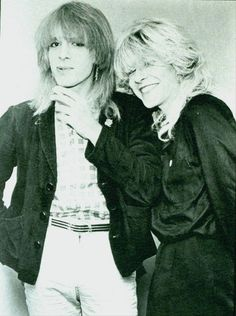 Japan, with David Sylvian and his brother Steve Jansen