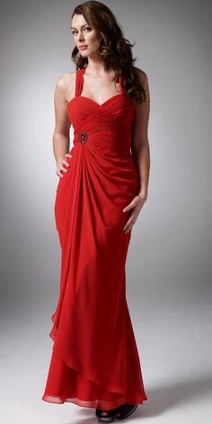 7289d25ea32 Vestidos rojos para Nochevieja largos Long Red Evening Dress