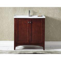 30 inch single sink bathroom vanity with open shelf bathroom pinterest open shelves bathroom vanities and vanities