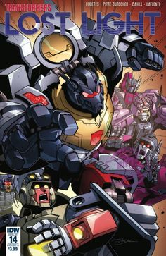 Full Preview for IDW Transformers: Lost Light #14