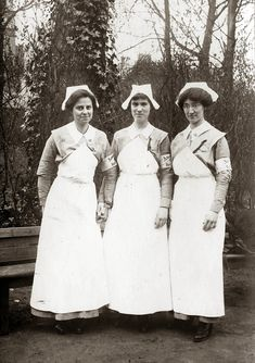 American nurses in France during #WWI.