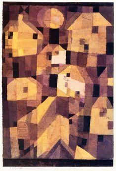 The Athenaeum - Autumnal Place (Paul Klee - )