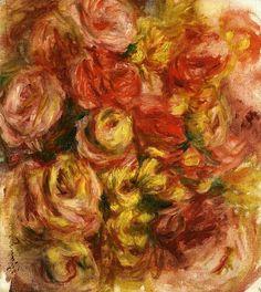 Study of Flowers - Renoir Pierre-Auguste