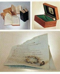 Several things belonged to Maria Nikolaevna Volkonskaya (1790 – 1830), Leo Tolstoy's mother: her books, her box, her bracelet and some lyrics written by her. #Leo_Tolstoy