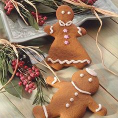 Orange Spiced Gingerbread People Recipe from Land O'Lakes
