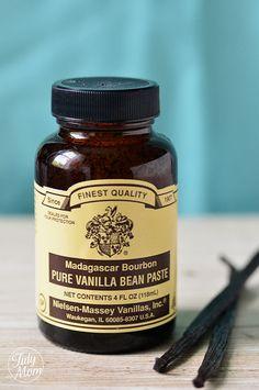 One of my favorite ingredients... Vanilla Bean Paste! from @Cheryl Tidymom