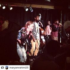 Thanks for the share @maryamrahimi25 #Repost  #montreal #underground #music scene #lovingit #Kalmunity organic improv