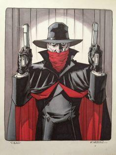 Matt Wagner - The Shadow Comic Art