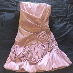 Cute mauve formal dress size 7/8 Josh and Jazz dress size 7/8 I wore this for a homecoming dance and only wore it that one time! Josh and Jazz Dresses Mini