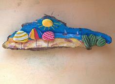 Paesaggi marini #artigianatoartistico #pietredipinte #pietredipinte #paesaggimarini #landscape #landscapedesign #designart #artenaif #paesaggiostupendo #spiaggebianche #spiaggeitaliane #arte_of_nature #instaart #paint #artisticwork #mood #followme