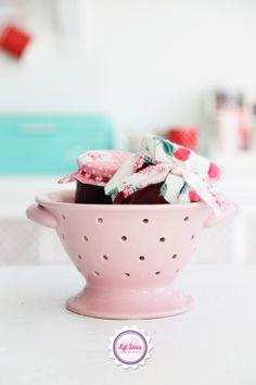 Syl loves, pink, homemade jam