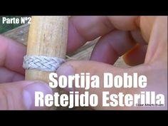"""Sortija doble Part 2: Retejido """"El Rincón del Soguero"""" - YouTube"""