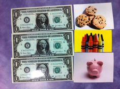 What Happens In Storytime...: Flannel Friday - Money Money Money