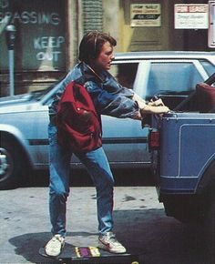 Image result for back to the future scenery