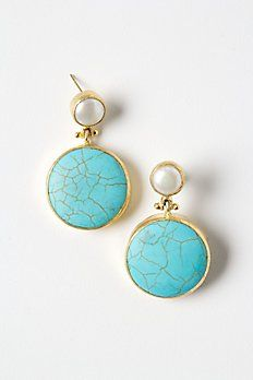 Gold Rung Earrings - Anthropologie.com