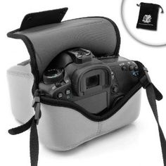 FlexArmor Neoprene dSLR Camera Holster Sleeve Case ( Grey ) for NIKON D7100 / D7000 / D3200 / D3100 / D3000 **Includes Accessory Bag!** by _Accessory_Genie. $12.99. USA Gear DuraNeoprene dSLR FlexArmor Camera CoverOffering scratch, dust, lens, LCD, and low-impact bump protection, the DuraNeoprene FlexArmor dSLR Cover is a convenient, quick-release case solution for your digital SLR camera. It's great for outdoor shooting when you don't want to carry a large cumbersome...