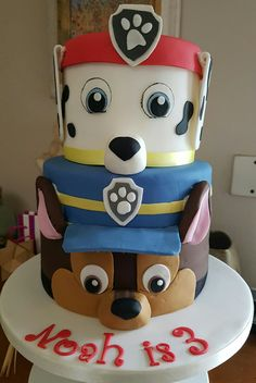 Marshall Paw Patrol Cake In 2018 Paw Patrol Party Ideas