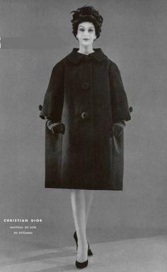 1958 - Yves Saint Laurent for Christian Dior coat