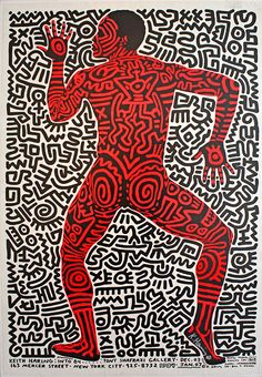 by Keith Haring