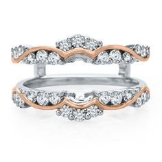 3/4 ct. tw. Diamond Ring Enhancer in 14K Gold available at #HelzbergDiamonds