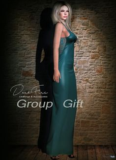 Isabel Long Dress Group Gift by DarkFire