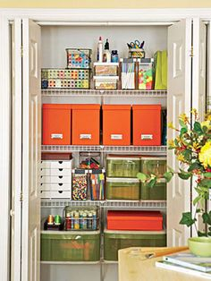 My closets don't look like this, but I wish they did!