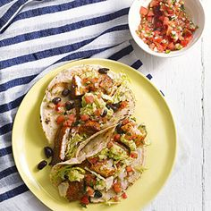 A smoky and slightly spicy rub makes tilapia a treat to eat (as does the topping of guacamole, salsa and beans).