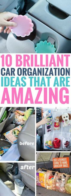 These Car Organization Hacks are the BEST thing I've read so far. Fantastic tips to make sure your car stays organized, clean and neat especially if you have kids. Definitely sharing this along! These Car Organization Hacks are the BEST thing Organizing Hacks, Car Cleaning Hacks, Car Hacks, Home Organization Hacks, Konmari, Home Design, Interior Design Games, Car Stain Remover, Cleaning Car Upholstery