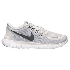 Factory Outlet venta Mujer Nike Lightweight Free 5.0 - Pure Platinum/negras/Wolf gris 724383 003
