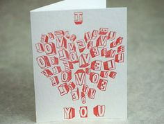 Papillon Press Valentine Card