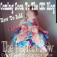 Bow tutorial free for girls dresses