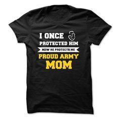(Tshirt Coupons) Now He Protects Me [Tshirt design] Hoodies, Funny Tee Shirts