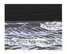 Emily Trueblood, Ocean Night 3, 2012