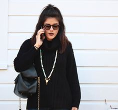 Forever 21 Sweater, and local boutique sunglasses