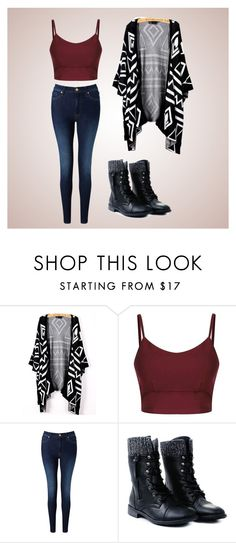 """""""Tribal"""" by glennyfranzen on Polyvore featuring 7 For All Mankind"""