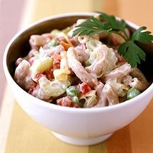 Weight Watchers Recipe - Classic Midwestern Macaroni Salad. Take this old favorite on your next picnic. Or toss in a can of water-packed tuna for a satisfying take-to-work lunch. 2 points