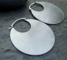 hoop earring disk - Google Search