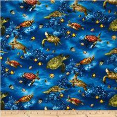 Island Sanctuary Sea Turtles Ocean