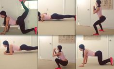 JEN SELTER HOME WORK-OUT VIDEO; 'Just because you don't have a gym, does not mean you can't get a good workout done inside your house! Make exercise a priority!' #glutes