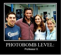 I wouldn't mind if this happened in my picture with Hugh jackman