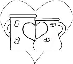 free measuring cup coloring pages - photo#42